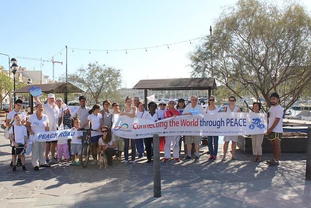 Malta-2017-09-21-Malta 'Peace Road' Held on International Day of Peace