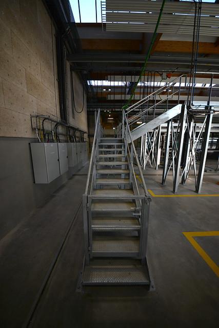 Escalier atelier reparation metro STAR - atana studio