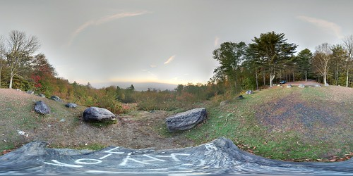 view shutesbury pehlam massachusetts sunrise panorama quabbinreservoir 2017 fall foliage fog