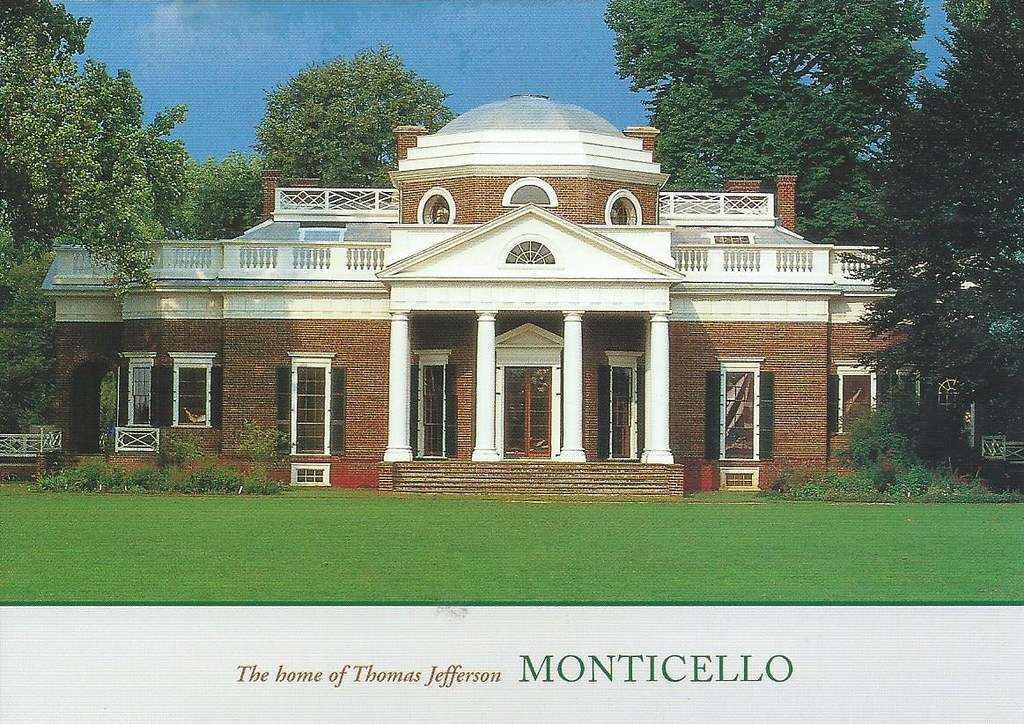 Admirable Monticello The Home Of Thomas Jefferson Virginia Flickr Home Interior And Landscaping Synyenasavecom