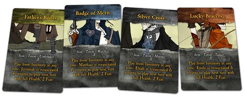 "Legends of Sleepy Hollow Kickstarter Promotional ""Totem"" cards   by GTGChris"