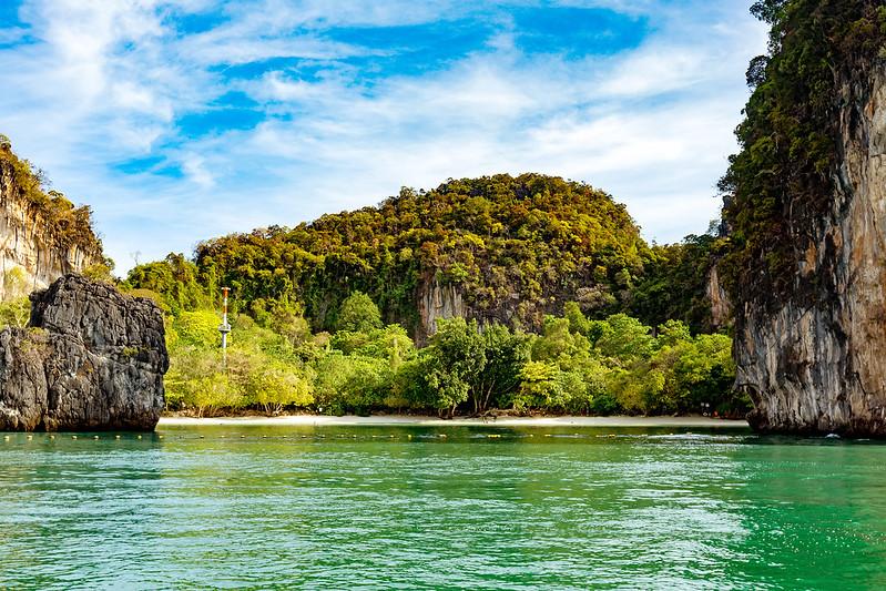 Hong island at Phang Nga bay, Thailand