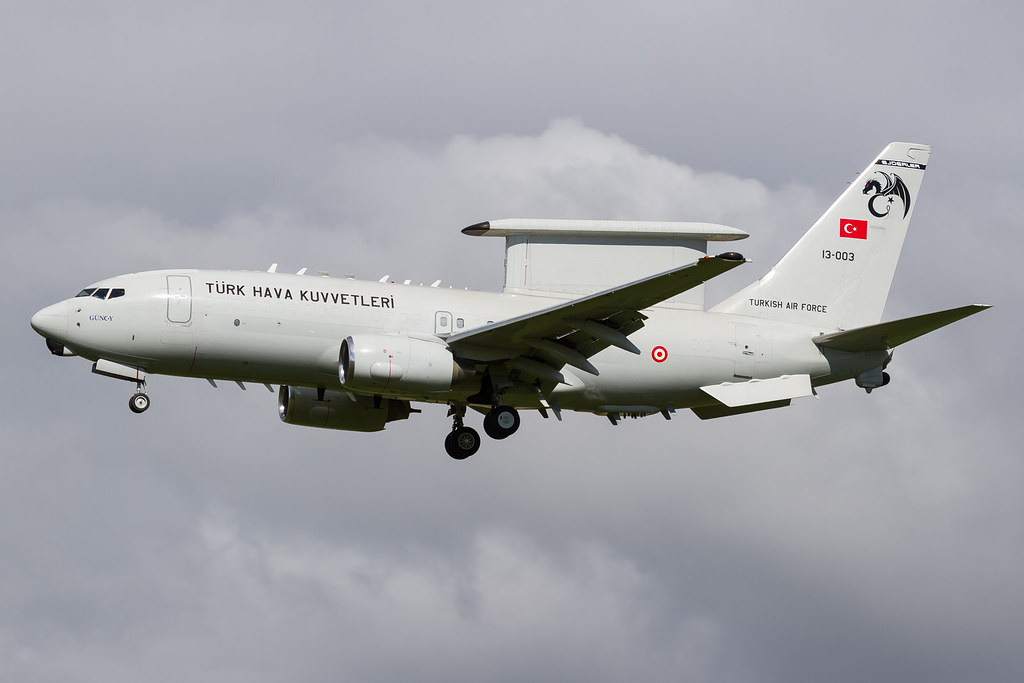 Risultati immagini per Turkish Air Force Boeing E-7T