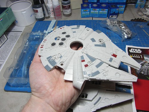 Revell_Millennium_Falcon_Build_Play_upper_hull | by dermot.moriarty