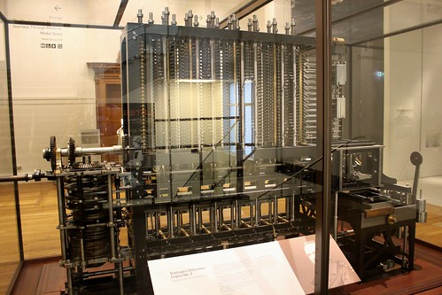 babbages difference engine number  science museum lond flickr
