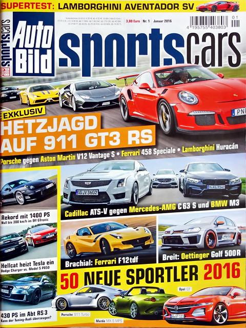 Auto Bild Sportscars 1 2016 More Cars