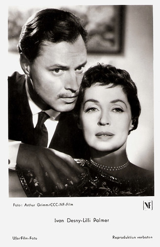 Ivan Desny and Lilli Palmer in Anastasia - Die letzte Zarentochter (1956)