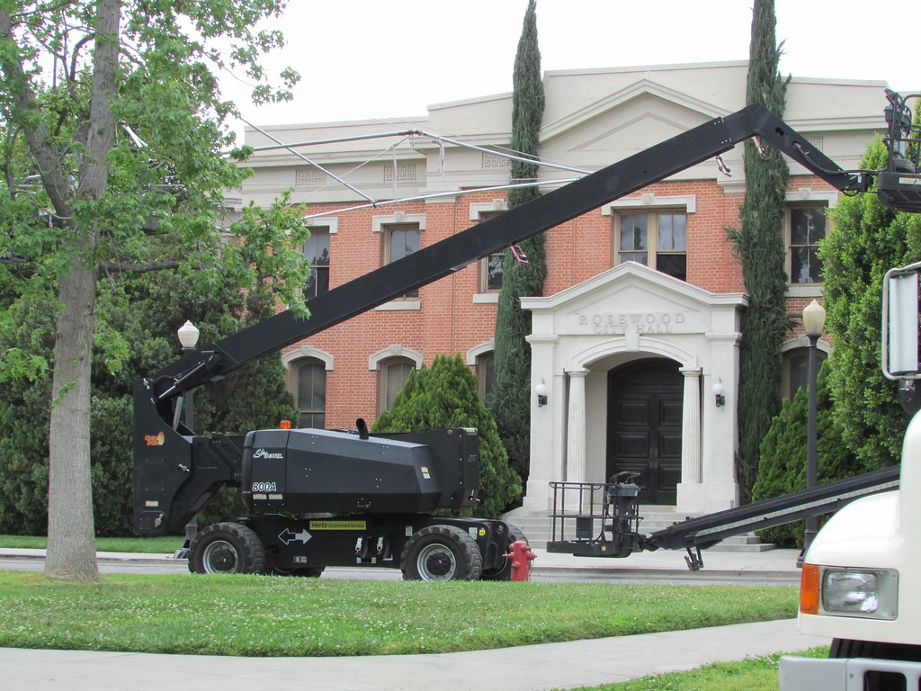 Rosewood City Hall (movie set) from Police Academy - Warne