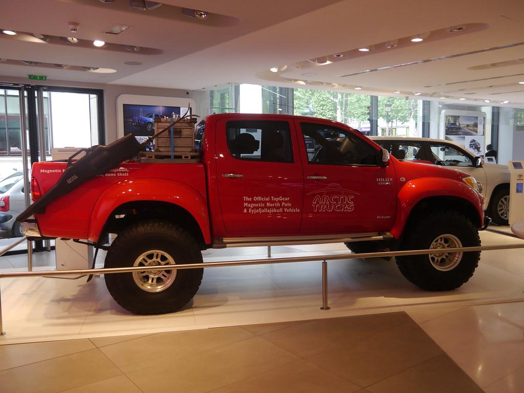 Top Gear Toyota Hilux Arctic Truck