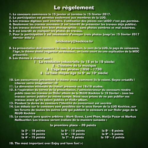 Brickstory 2017 - Le règelement | by RLUG Kockice
