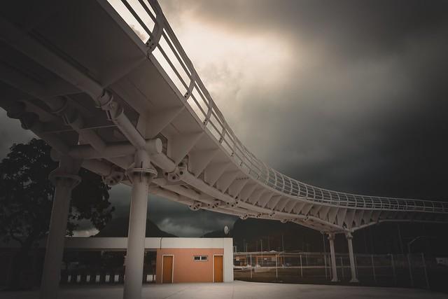 BRT Bus Station Rio de Janeiro