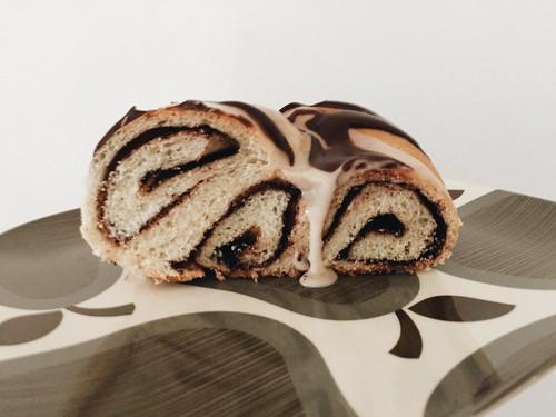 Vegan Chocolate Cookie Butter King Cake   by lady3jenn