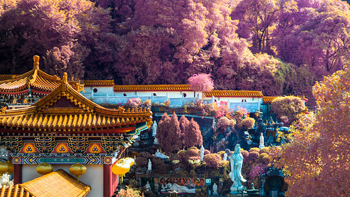 infrared Hong Kong temple | by Ricky Kwok ARPS