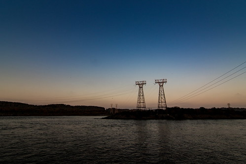 darlington maryland unitedstates power lines conowingo hydroelectric station tokina 1116mm canon 7dm2 eos 7dmarkii 7dmk2 7d mark ii tokina1116mmf28 f28 dusk sunset waterscape us