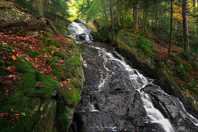 Autumn at Thundering Brook Falls