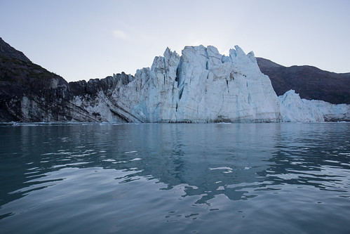 Kayaking at Margerie Glacier, Tarr Inlet, Glacier Bay National Park   by Matt-Zimmerman