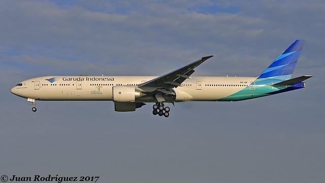 PK-GIF - Garuda Indonesia - Boeing 777-3U3(ER) - AMS/EHAM