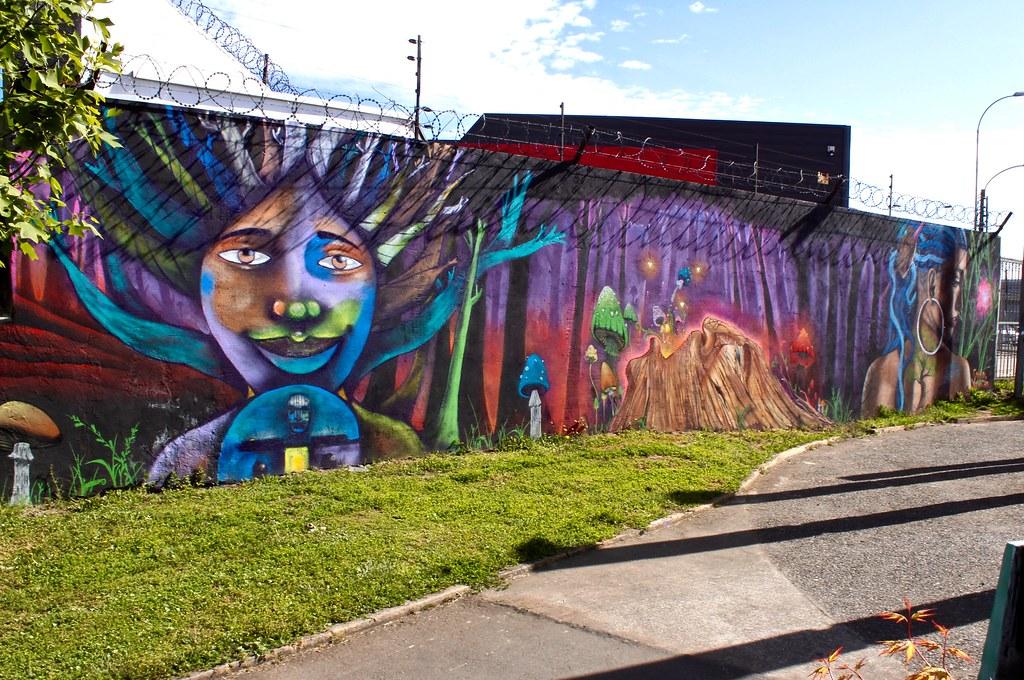 Murales De Temuco Murales De Temuco Dalacost Flickr