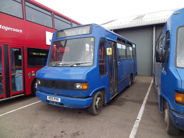 Chepstow Classic bus N501RVK