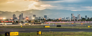 Mexico City Airport and Downtown | by ruifo