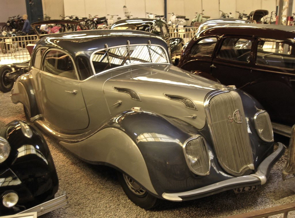 1936 PANHARD & LEVASS0R Dynamic 130 X76 Coupé | Although Pan… | Flickr