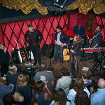Thu, 14/09/2017 - 5:15pm - The Lone Bellow (Zach Williams; Kanene Donehey Pipkin; Brian Elmquist) perform for WFUV Public Radio at Rockwood Music Hall in New York City, 9/14/17. Hosted by Rita Houston. Photo by Gus Philippas/WFUV