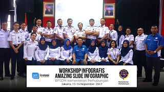 Workshop Amazing Slide Infographic at BPSDM Kementerian Perhubungan | by dhonyfirmansyah