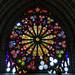Vidriera en la Basílica del Voto Nacional