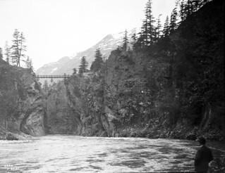 North Cascades near Diablo Dam site, 1927