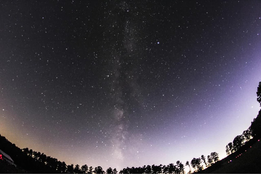 Time Lapse of the sky at the Staunton River Star Party in Virginia, October 17, 2017.