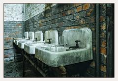 Sinks in grunge