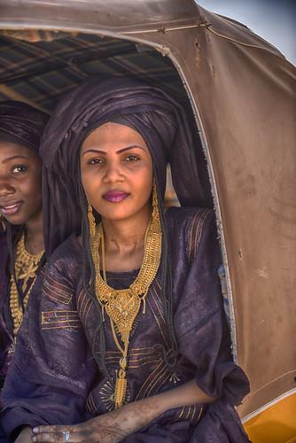 agadez bianou festival niger woman