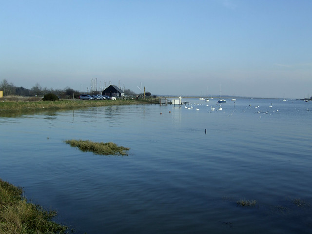 The River Crouch at South Woodham Ferrers