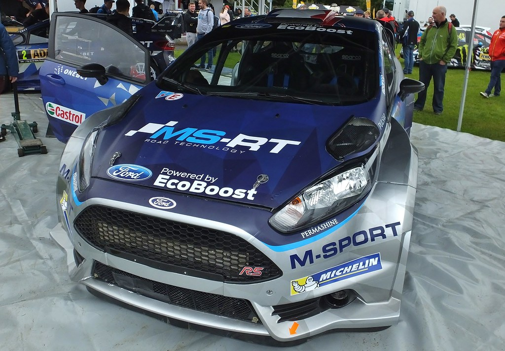 Ford Fiesta Rs 2017 >> M Sport Ford Fiesta Rs 2017 Rallyday Castle Combe Raci