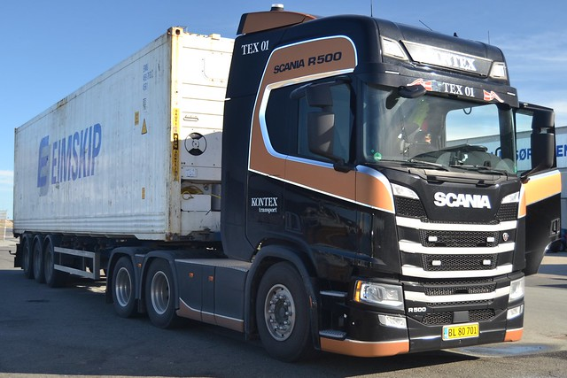Scania R500 - Kontex Transport - DK  BL 80 701