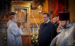 Литургия в Софийском соборе 365