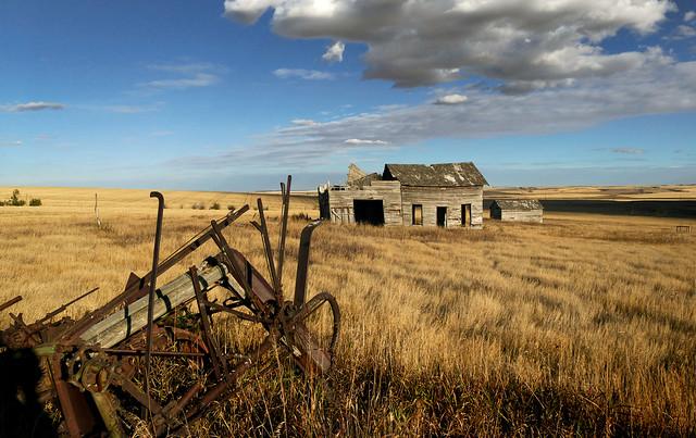 Abandoned in  Alberta.