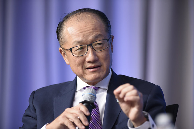 Sat, 10/14/2017 - 11:54 - October 14, 2017 - WASHINGTON, DC. World Bank / IMF 2017 Annual Meetings. Taking Women-Owned Businesses to the Next Level.  Watch Event  Jim Yong Kim, President, World Bank Group; Ivanka Trump, Senior Adviser To The President Of The United States; Reem Bint Ebrahim Al Hashimy, Minister Of State For International Cooperation, United Arab Emirates; Steven Puig, CEO, Banco BHD; Philippe Le Houérou, CEO, IFC; Anta Babacar Ngom, Executive Director, Sedima; Nour Al-Hassan, CEO, Tarjama; Win Win Tint, CEO, City Mart Holding Company. Photo: World Bank / Franz Mahr  Photo ID: 101417_Event_Taking Women Owned Business_164