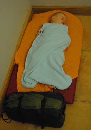 Thermarest on an albergue floor | by Pikes On Bikes