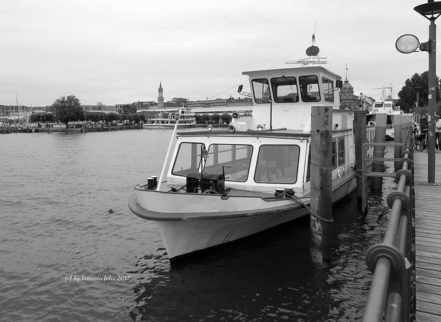 Lago Constanza o Bodensee, orilla alemana.