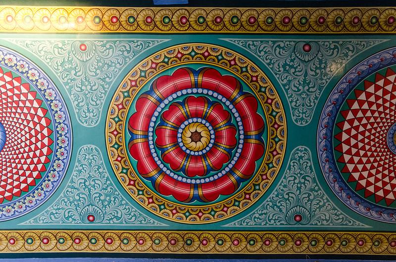 Ceiling at Sri Mariamman Temple