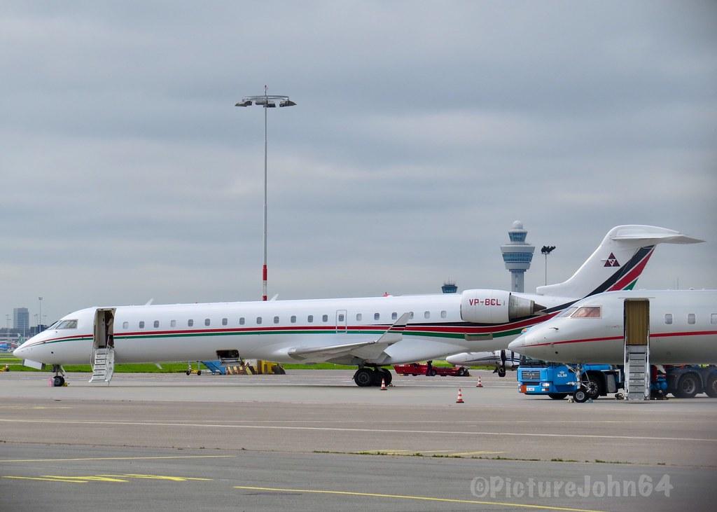 Consolidated Contractors Company Canadair CRJ700 (VP-BCL