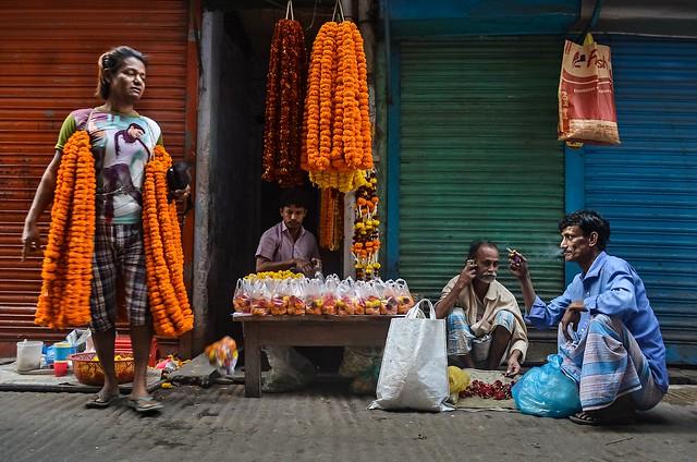 Street flower shop!
