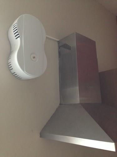 Pose d'une ventilation mécanique contrôlé avec récupération de la chaleur.
