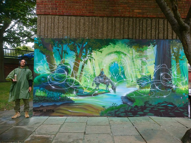 Grimsby urban Art Festival Sept 2017