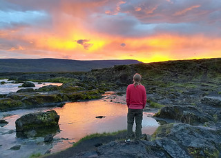 sunset-godafoss | by quirkytravelguy