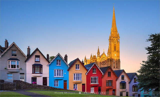 Deck of Cards and St Colman's Cathedral - Cobh - Ireland