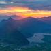 Grosser Mythen sunset