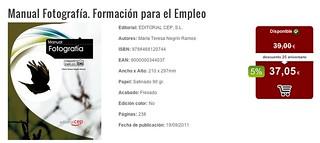 info del Manual de Fotografía | by Mª Teresa Negrín