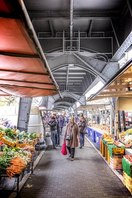 Isemarkt in Hamburg